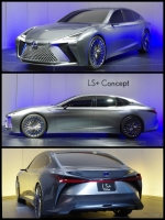 東京モーターショー2017 LEXSUS LS+CONCEPT