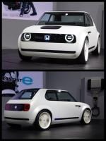 東京モーターショー2017 ホンダブース HONDA URBAN EV CONCEPT