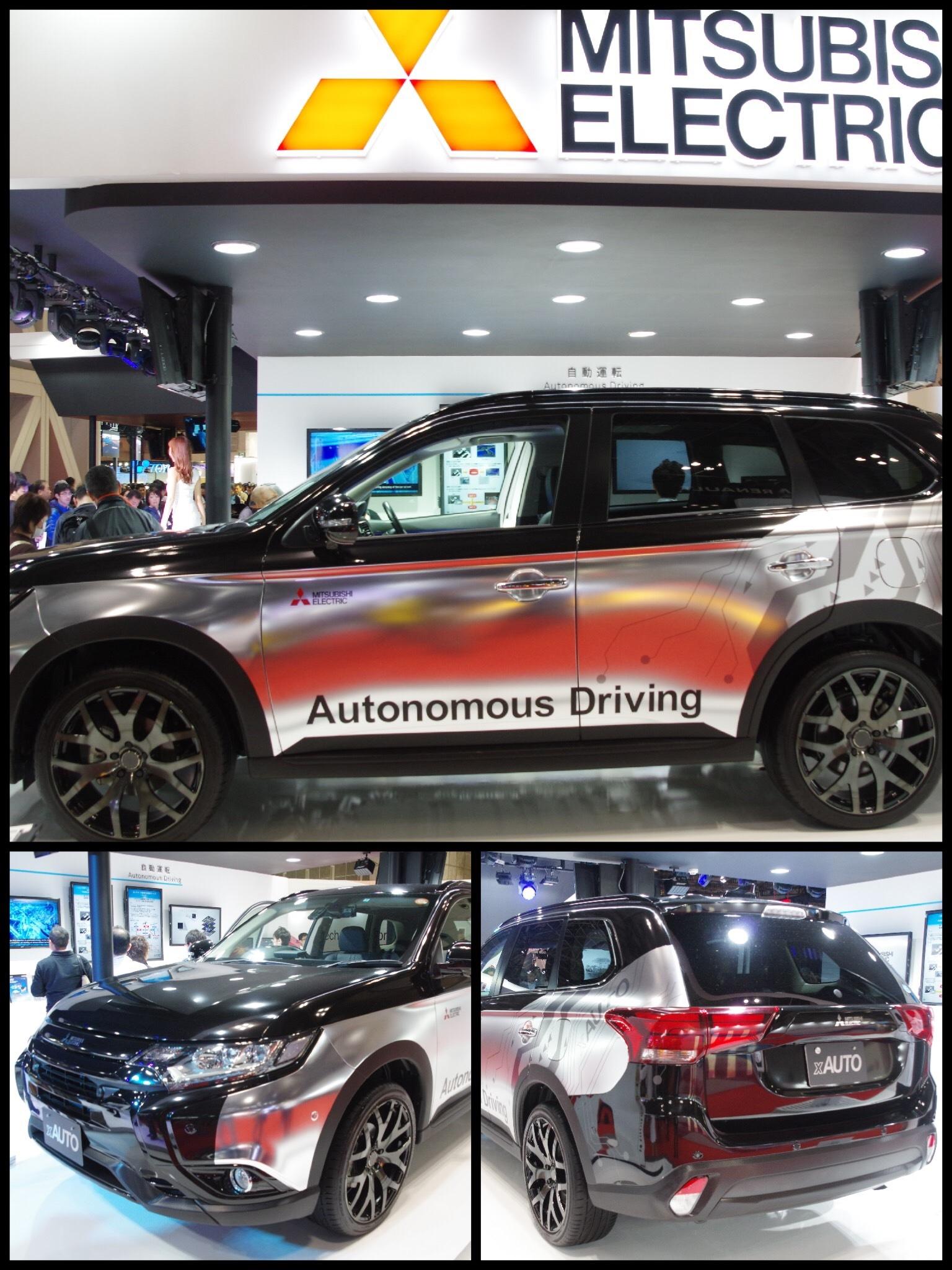 東京モーターショー2017 三菱電気 アウトランダーPHEV