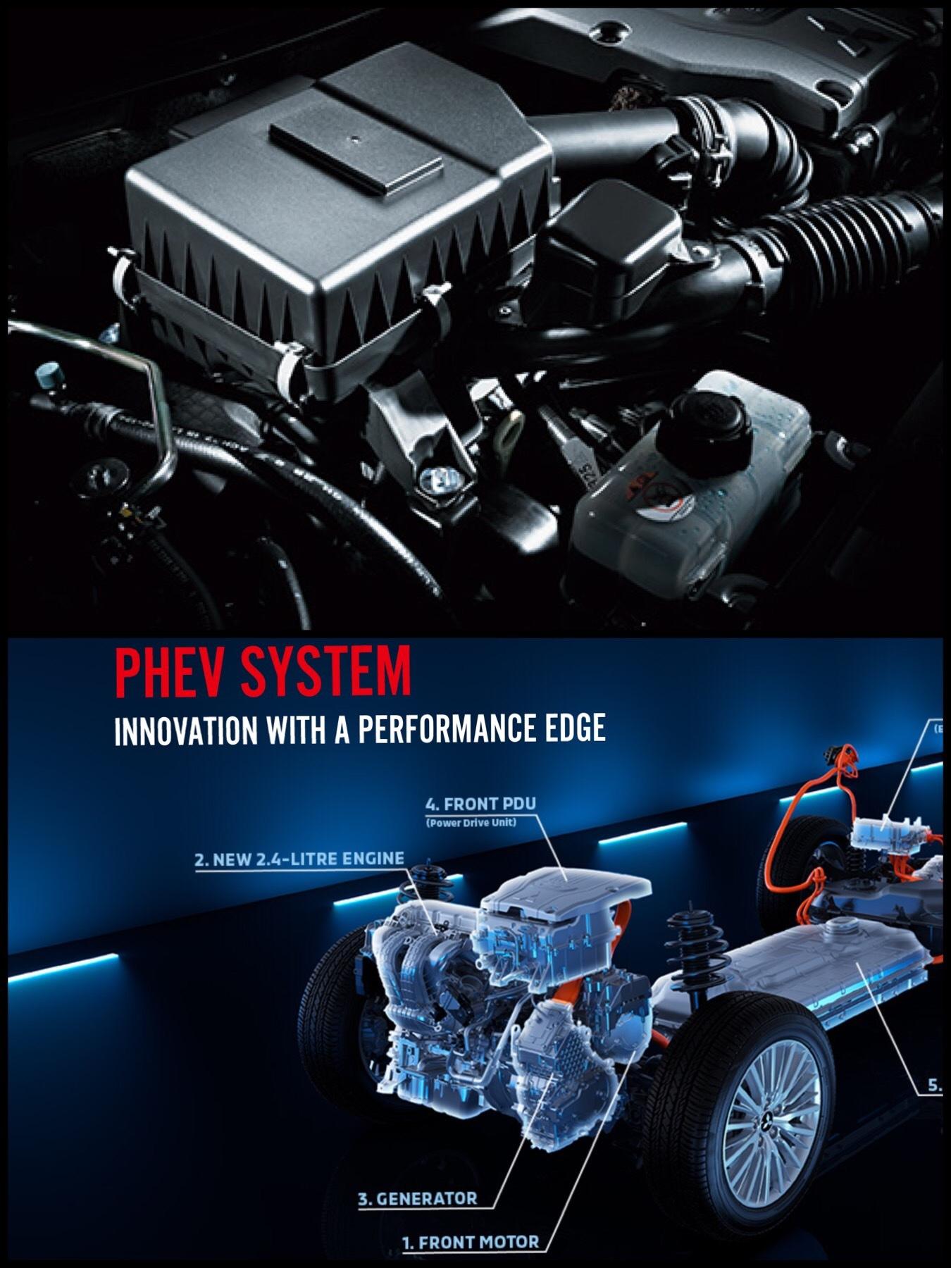 アウトランダーPHEV2019モデル採用 2.4L MIVECエンジン