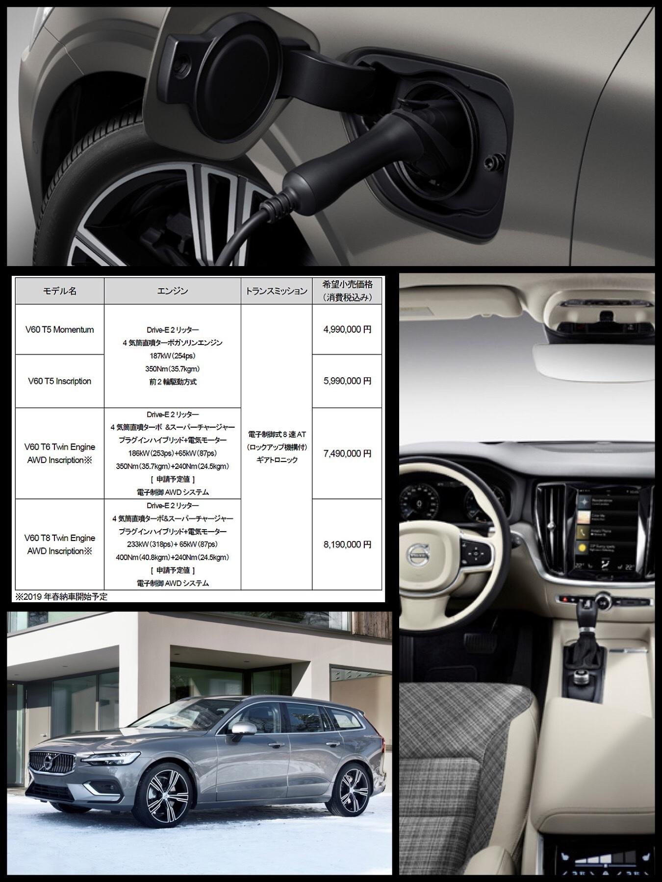 NEW ボルボ V60 VOLVO PHEV