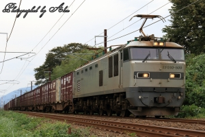 4076レ(=EF510-509牽引)