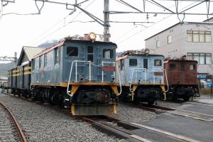 左からED14-1、ED14-3、ED14-4