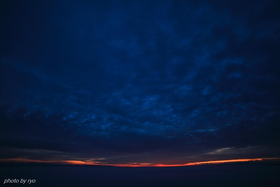 太陽柱の見えた朝_1