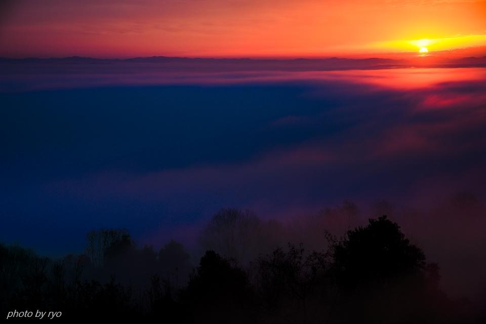 太陽柱の見えた朝_3