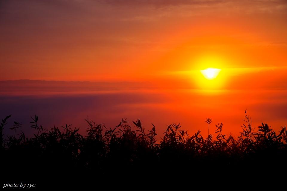 太陽柱の見えた朝_4