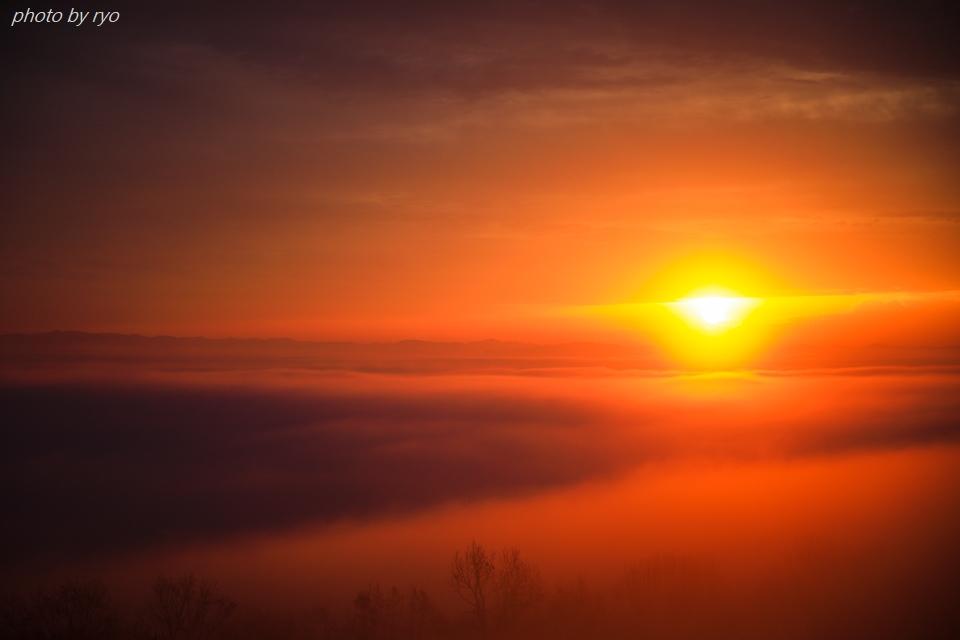 太陽柱の見えた朝_5