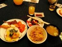 懇親会の食事