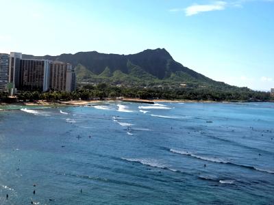 ハワイ002ワイキキビーチ