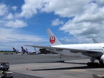 ハワイ004 JAL