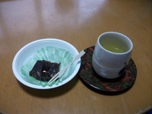 2017年11月暖かいお茶のおやつ①