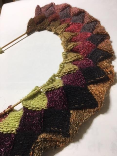 バスケット編み2