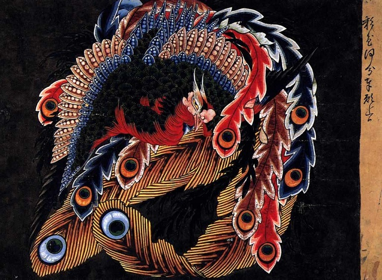 hokusai_25-1024x751鳳凰図88歳