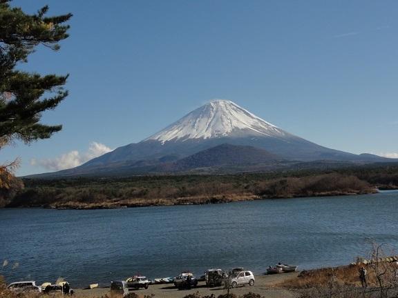 11月の子抱き富士