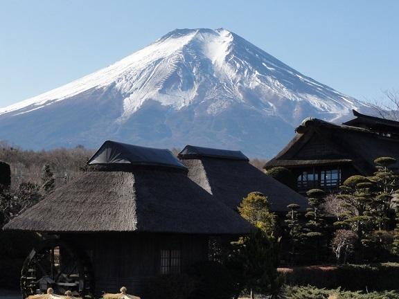 12月の富士