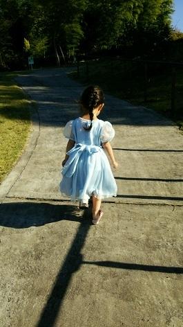 孫のドレス