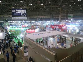 【写真】幕張メッセで開催中の農業エキスポの会場の様子