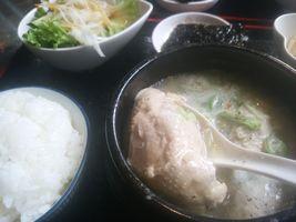 【写真】君津・暖家のサムゲタン定食