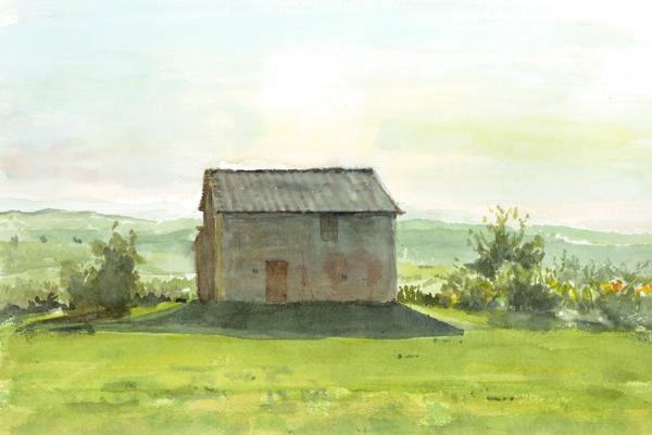 農場の倉庫