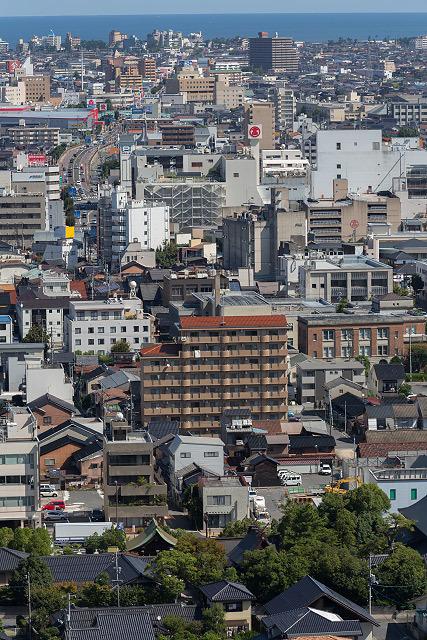 城山 米子城跡 大山眺望
