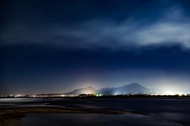 大山 夜景