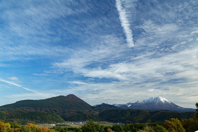壺瓶山より大山を望む フルサイズ
