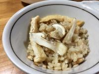 松茸の炊き込みご飯