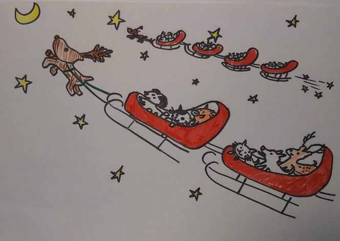 島の恵さんクリスマス
