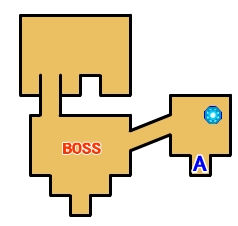 【ロストスフィア 攻略】 浮遊要塞ダーカ・ヴェナス マップ 地図 宝箱 光るポイント キラキラ 【LOST SPHEAR】