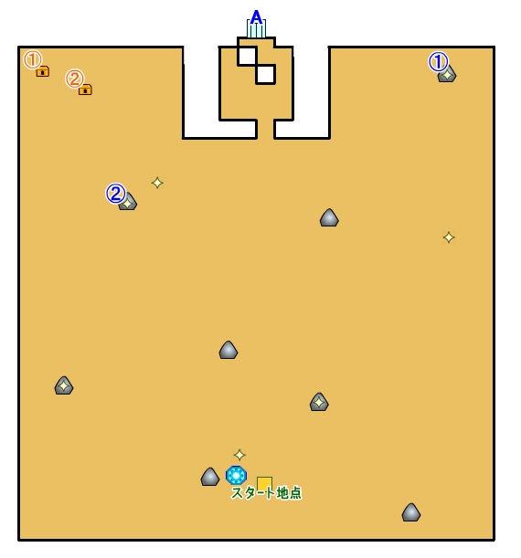 【ロストスフィア 攻略】 月晄炉 マップ 地図 扉の開け方 宝箱 光るポイント 【LOST SPHEAR】