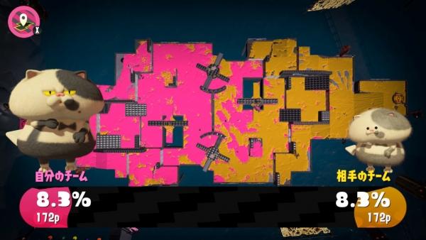 【スプラトゥーン2】第3回フェス ミステリーゾーンの攻略ポイント 攻め時が肝心