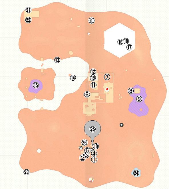 【スーパーマリオオデッセイ】砂の国( アッチーニャ)のローカルコイン全100枚の入手場所一覧・マップ(地図)・画像あり