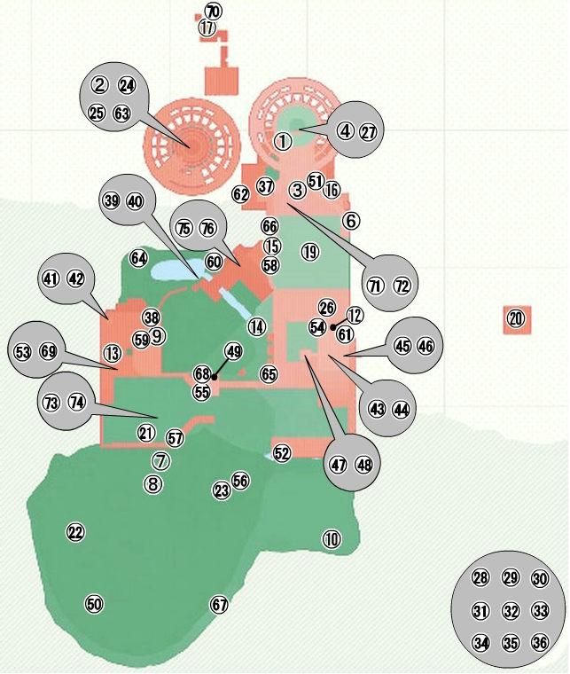 【スーパーマリオオデッセイ】森の国(スチームガーデン)のパワームーン全76個の入手方法・場所一覧・マップ(地図)あり