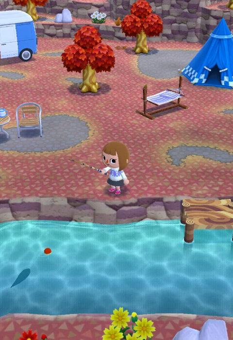 【ポケ森】ニジマスの入手方法・釣れる場所・魚影の大きさ【どうぶつの森ポケットキャンプ攻略】