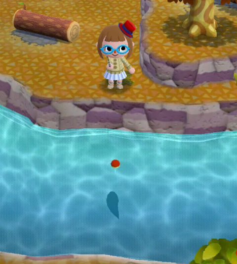 【ポケ森】ニシキゴイ(錦鯉)の入手方法・釣れる場所・魚影の大きさ【どうぶつの森ポケットキャンプ攻略】