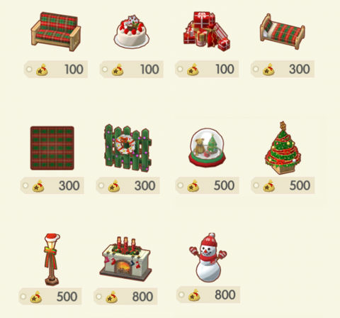 【ポケ森】クリスマスイベント/サンタ服・クリスマス家具入手方法まとめ【どうぶつの森ポケットキャンプ攻略】