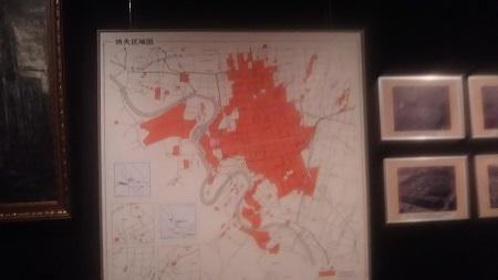 戦災消失区域図