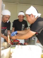 松戸モリヒロフェスタ「松戸ラーメンサミット」 ~中華蕎麦 とみ田~-10