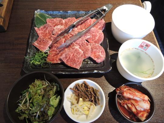 超まんぷく焼肉セット(1382.4円)