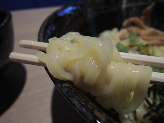 魚介つけ麺の麺