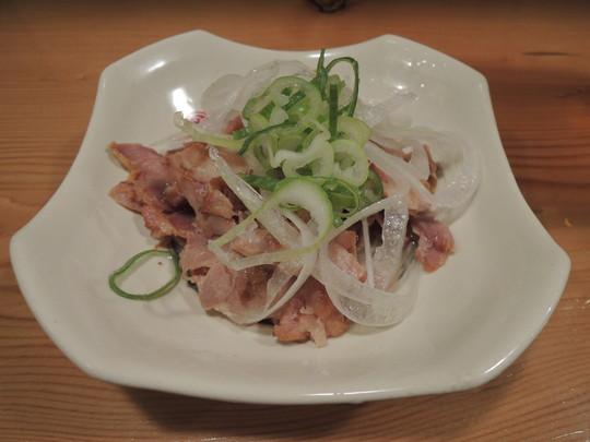 親鶏炙り焼-塩ポン酢味-(321円)