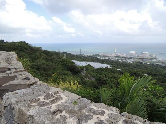 中城城跡(二の廓からの景色)