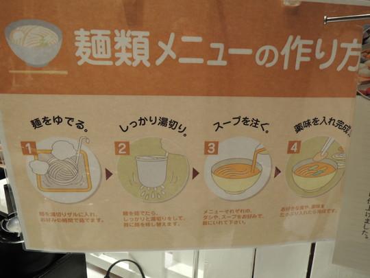 麺類メニューの作り方