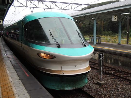 特急くろしお1号(白浜駅)