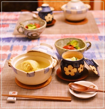 ロール白菜で夕飯