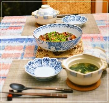 麻婆茄子&豆腐