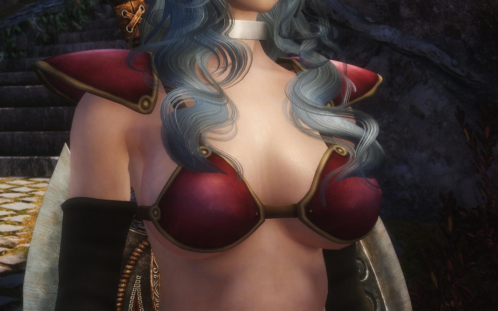 Dragon Quest Red Warrior Armor (DQ3 Female Worrior Armor)