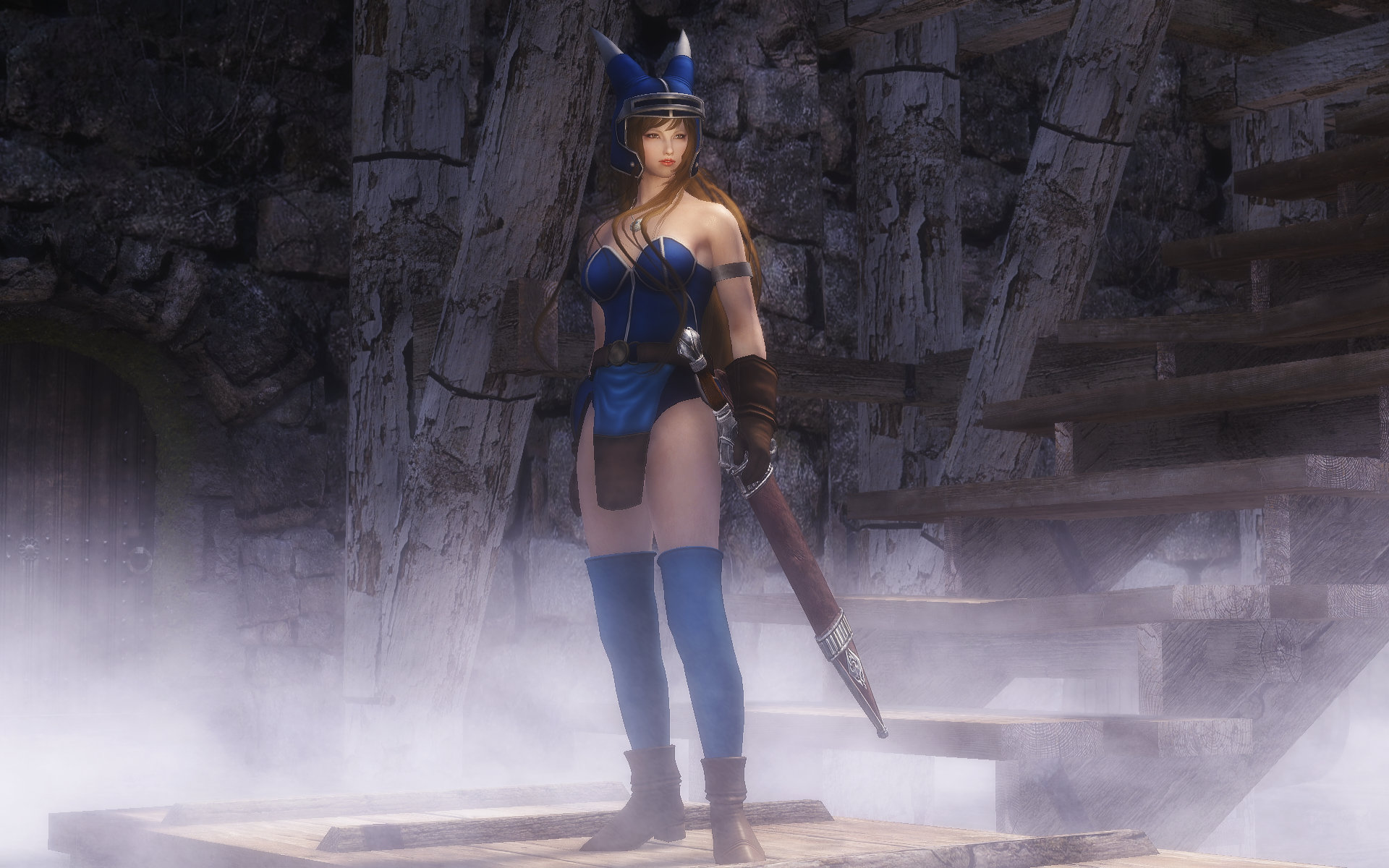Dragon Quest Blue Warrior Armor (DQ Anime Daisy Armor)
