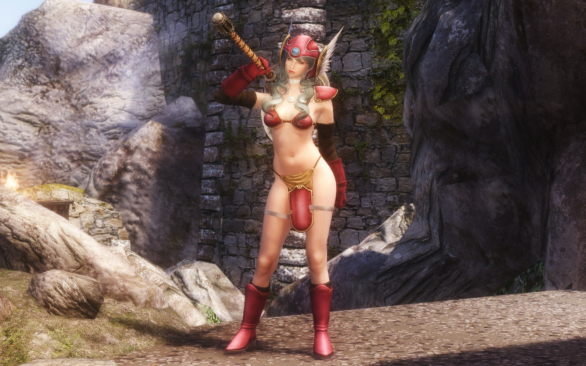 Dragon Quest Red Warrior Armor (DQ3 Female Worrior Armor)