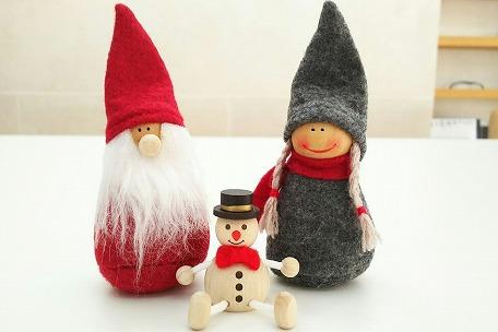 サンタさんと女の子1
